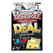 Monopoly Millionaire Deal Card Game by Hasbro