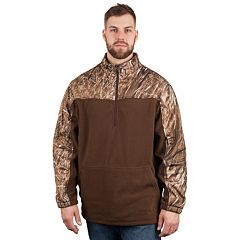 Huntworth 1/4-Zip Fleece Camouflage Pullover - Men
