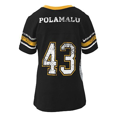 Pittsburgh Steelers Troy Polamalu Tee - Girls 4-6x