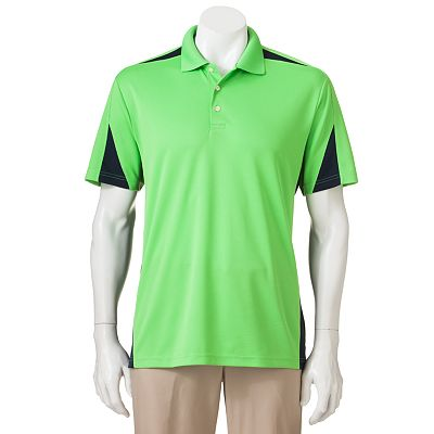 Chaps Colorblock Golf Performance Polo
