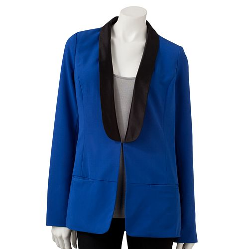 Women's Rock & Republic® Colorblock Tuxedo Blazer