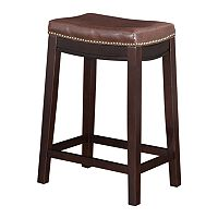 Deals on Linon Allure Counter Stool