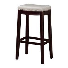Surprising Grey Linon Bar Stools Kohls Dailytribune Chair Design For Home Dailytribuneorg