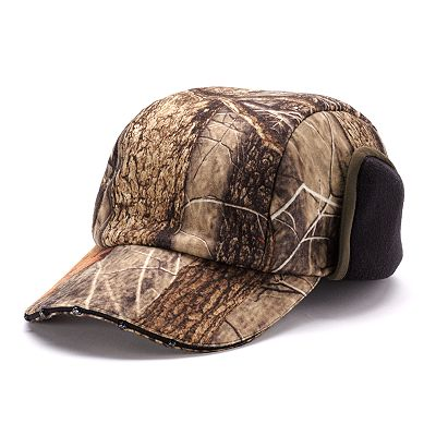 Tek Gear Camo Fleece Lighted Cap