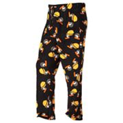 Angry Birds Bomb the Black Bird Microfleece Lounge Pants - Big and Tall