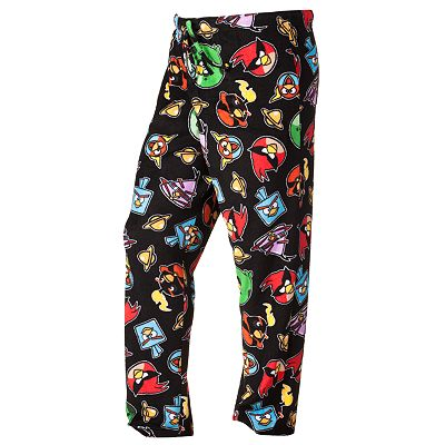 Angry Birds Space Microfleece Lounge Pants - Big and Tall