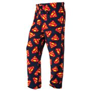 Superman Microfleece Lounge Pants - Big and Tall