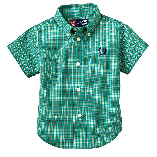 Chaps Checked Woven Shirt - Baby