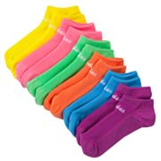 adidas 6-pk. ClimaLite SuperLite No-Show Socks - Girls
