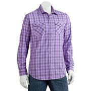 Apt. 9 Plaid Dobby Casual Button-Down Shirt