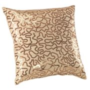 daisy fuentes Gold Dust Sequin Decorative Pillow