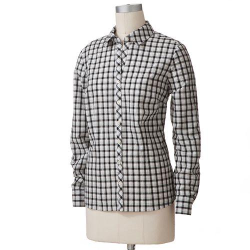 Croft & Barrow® Plaid Poplin Shirt
