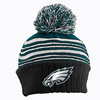 Philadelphia Eagles Striped Knit Hat - Baby