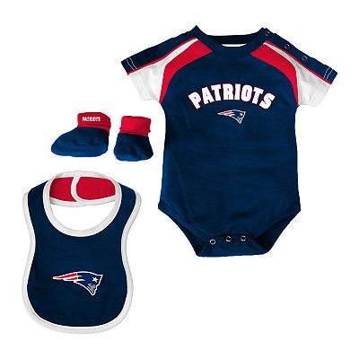 New England Patriots Creeper Set - Baby