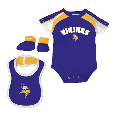 Minnesota Vikings Creeper Set - Baby