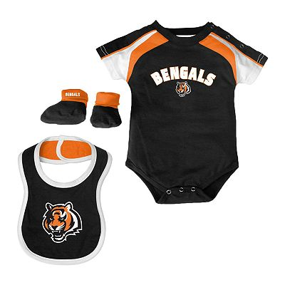 Cincinnati Bengals Creeper Set - Baby