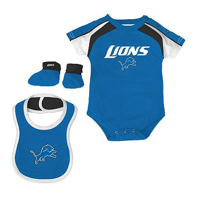Detroit Lions Creeper Set - Baby