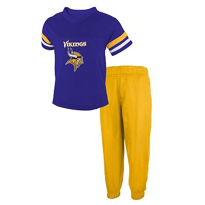 Minnesota Vikings Jersey and Pants Set - Toddler