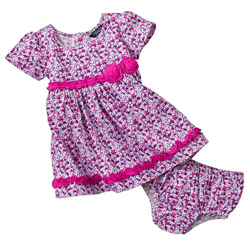 Chaps Floral Dress - Baby