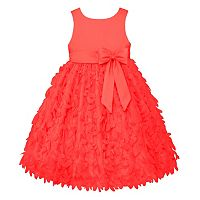 Girls 4-6x American Princess Satin Petal Dress