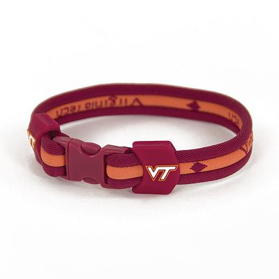 Virginia Tech Hokies Titanium Sport Bracelet - Youth