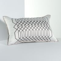 Simply Vera Vera Wang City Shadow Geometric Decorative Pillow