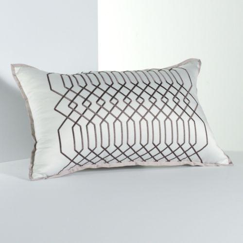 Simply Vera Vera Wang City Shadow Geometric Decorative Pillow