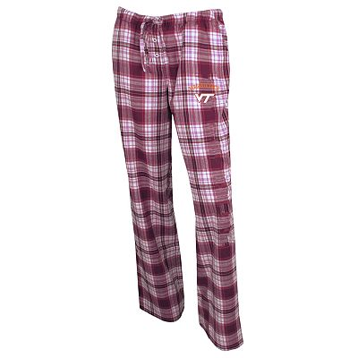 Virginia Tech Hokies Crossroad Flannel Lounge Pants - Women