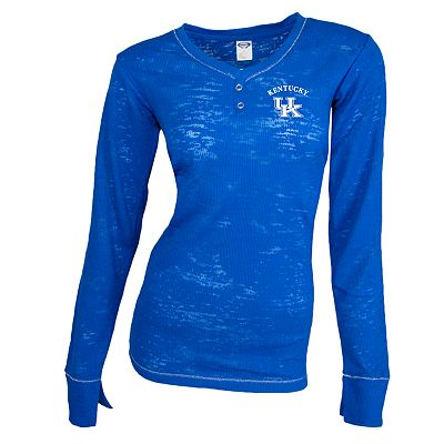 Kentucky Wildcats Crossroad Burnout Thermal Tee - Women