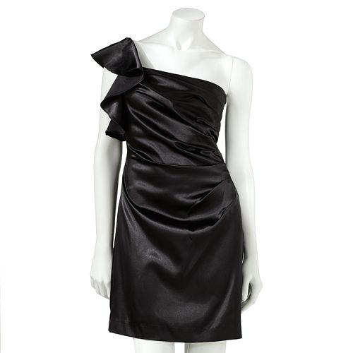 Hailey Logan Ruffled Asymmetrical Dress $ 62.99