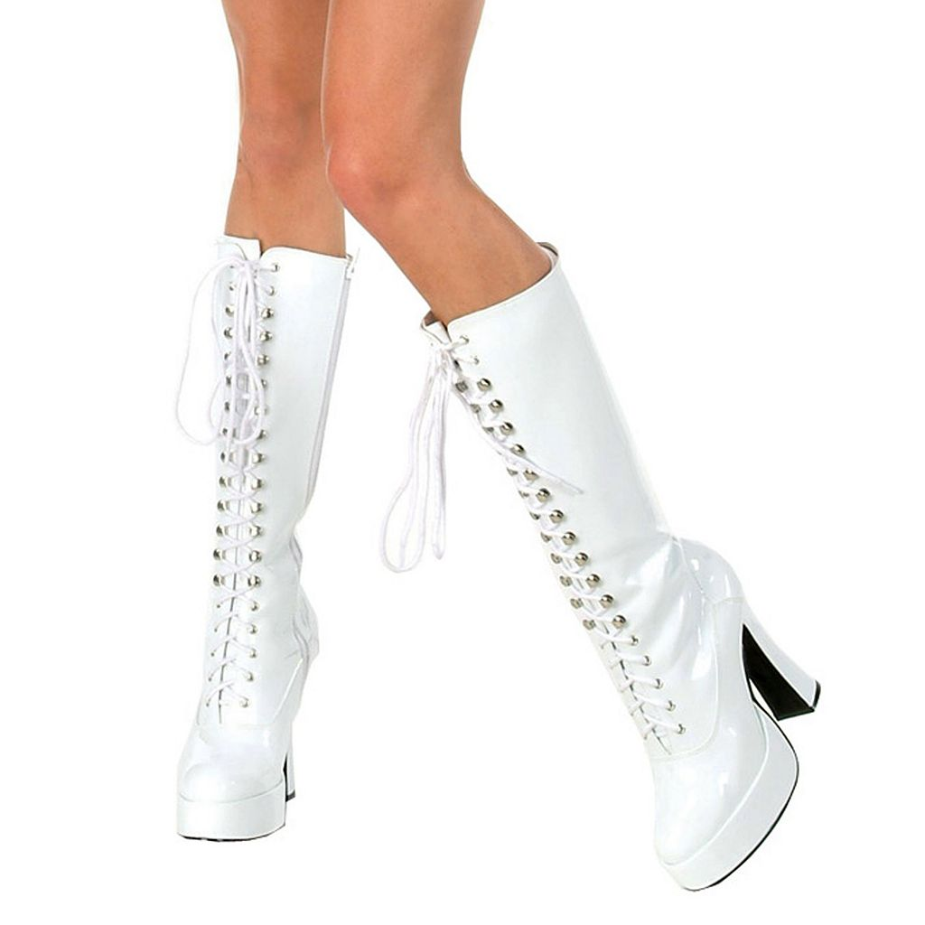 Adult Lace-up Costume Boots
