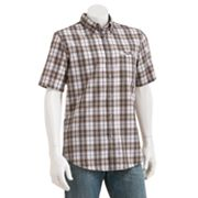 Chaps Camden Plaid Performance Casual Button-Down Shirt