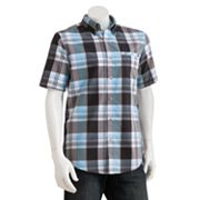 Chaps Explorer Plaid Performance Casual Button-Down Shirt