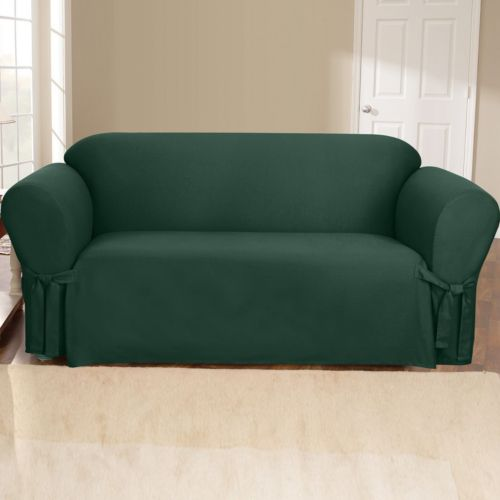 Sure Fit Duck Cloth Sofa Slipcover