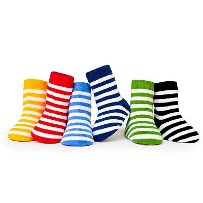 Trumpette 6-pk. Striped Booties - Baby