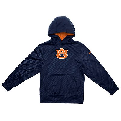 Nike Auburn Tigers Therma-FIT KO Hoodie - Boys 8-20