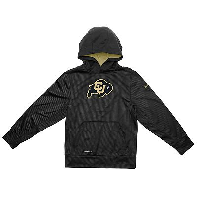 Nike Colorado Buffaloes Therma-FIT KO Hoodie - Boys 8-20