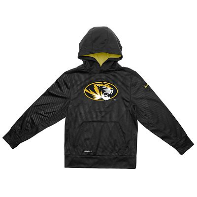 Nike Missouri Tigers Therma-FIT KO Hoodie - Boys 8-20