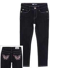 Girls 4-6x Levi's Butterfly Denim Leggings