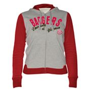 Wisconsin Badgers Nickel Coverage Colorblock Hoodie