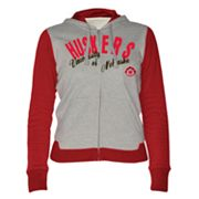 Nebraska Cornhuskers Nickel Coverage Colorblock Hoodie
