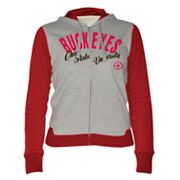 Ohio State Buckeyes Nickel Coverage Colorblock Hoodie
