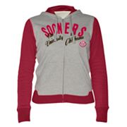 Oklahoma Sooners Nickel Coverage Colorblock Hoodie
