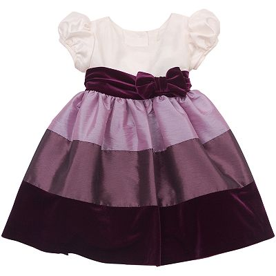 Rare Editions Colorblock Dress - Baby