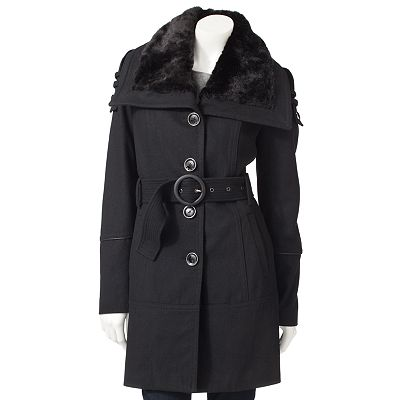 Bromley Military Wool Coat