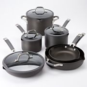 Cooking with Calphalon Easy-System 10-pc. Hard-Anodized Cookware Set