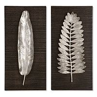 2-pc. Leaves Wall Art Set
