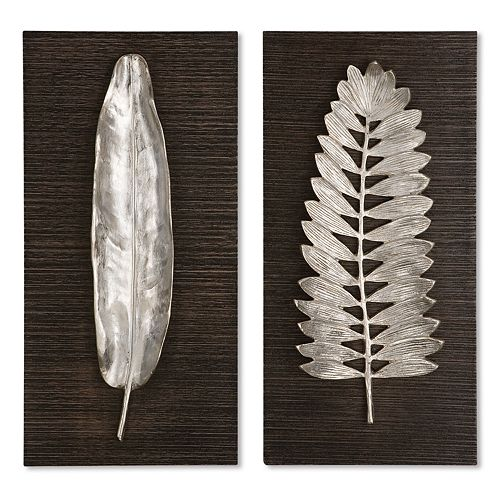 2-pc. Leaves Wall Art Set