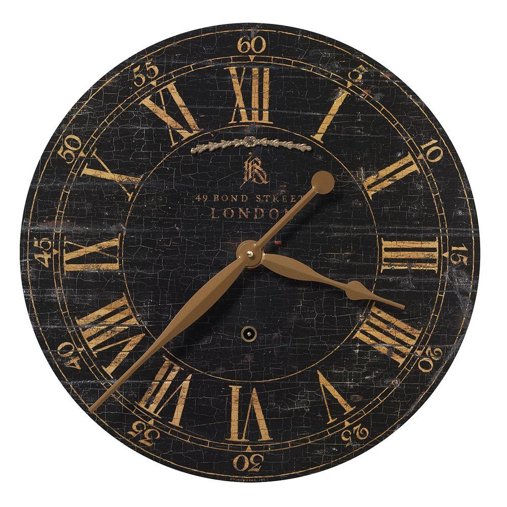 Uttermost Bond Street Wall Clock