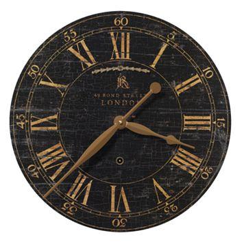 Bond Street Wall Clock